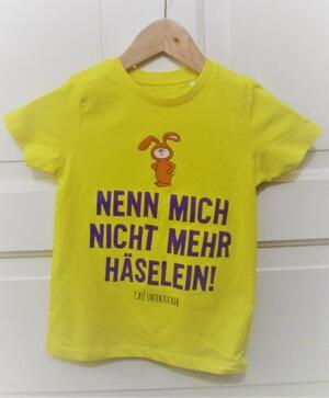T-Shirt - Nenn mich nicht mehr Häselein